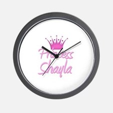 Princess Shayla Wall Clock