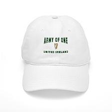 """Army of One- United Ireland"" Baseball Cap"