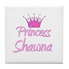 Princess Shawna Tile Coaster