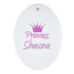 Princess Shawna Oval Ornament
