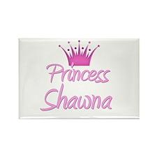 Princess Shawna Rectangle Magnet