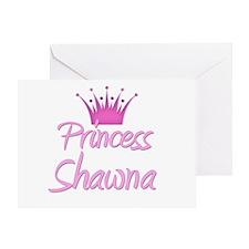 Princess Shawna Greeting Card