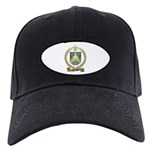 PELLETIER Family Crest Black Cap