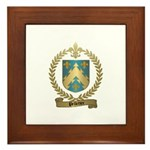 PELLETIER Family Crest Framed Tile