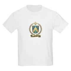PELLETIER Family Crest Kids T-Shirt