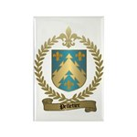 PELLETIER Family Crest Rectangle Magnet
