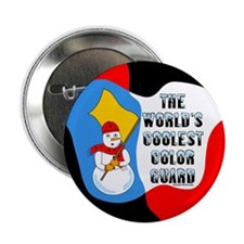 "Coolest Color Guard 2.25"" Button"