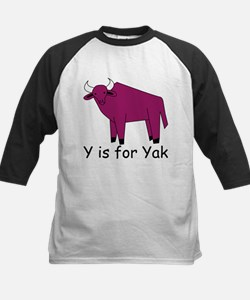 Y is for Yak Tee
