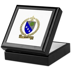 PEPIN Family Crest Keepsake Box