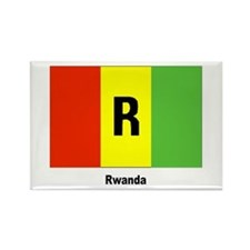 Rwanda Flag Rectangle Magnet