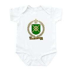 PERRON Family Crest Infant Creeper