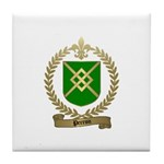 PERRON Family Crest Tile Coaster