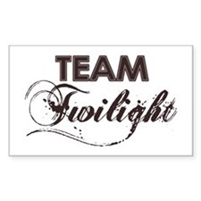 Team Twilight Rectangle Decal