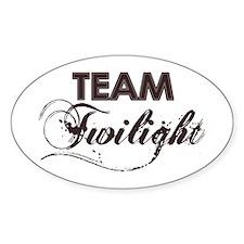 Team Twilight Oval Decal