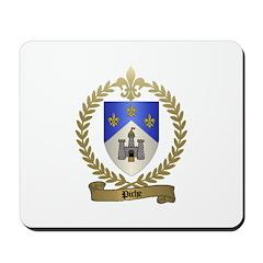 PICHE Family Crest Mousepad
