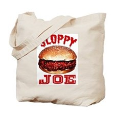 Painted Sloppy Joe Tote Bag