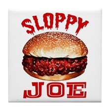Painted Sloppy Joe Tile Coaster