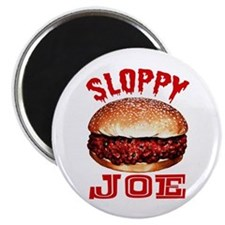 Painted Sloppy Joe Magnet
