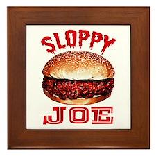 Painted Sloppy Joe Framed Tile