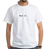 Writer Mens White T-shirts