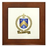 PILON Family Crest Framed Tile