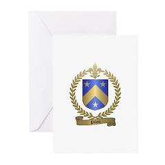 PILON Family Crest Greeting Cards (Pk of 10)