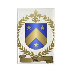 PILON Family Crest Rectangle Magnet (100 pack)