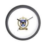 PILON Family Crest Wall Clock