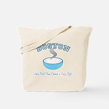 Boston Clam War Tote Bag