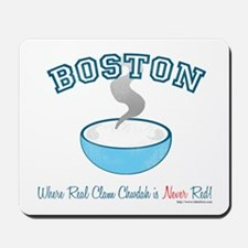 Boston Clam War Mousepad