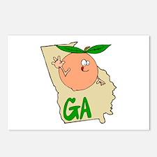 Georgia Pride! Postcards (Package of 8)