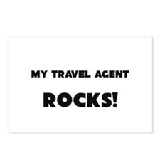 MY Travel Agent ROCKS! Postcards (Package of 8)