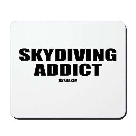 SKYDIVING ADDICT Mousepad