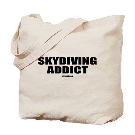 SKYDIVING ADDICT Tote Bag