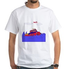 Tug Boat Shirt with Airplane