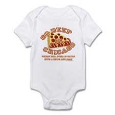 Deep Dish Pizza Infant Bodysuit