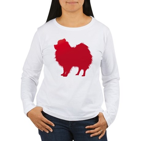 Pomeranian Women's Long Sleeve T-Shirt