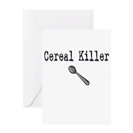 Buy Cereal Killer Funny shirt Greeting Card