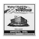 Hall Candy Company Tile Coaster