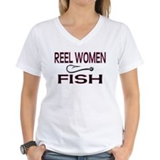 Reel Women Fish Shirt