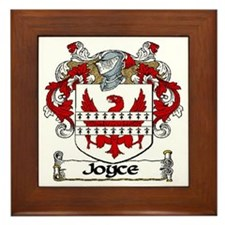 Joyce Coat of Arms Framed Tile