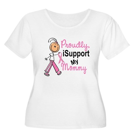 I Support My Mommy 1 (SFT BC) Women's Plus Size Sc