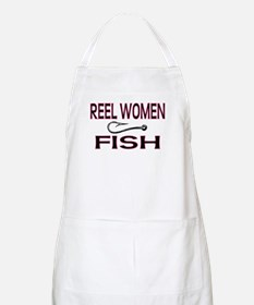 Reel Women Fish BBQ Apron