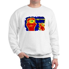 Ed the Head on Sweatshirt