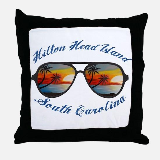 South Carolina - Hilton Head Island Throw Pillow