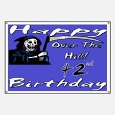 Cool Forty two birthday Banner