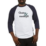 Goats & Monkeys Baseball Jersey