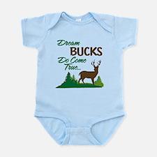 Dream Bucks Do Come True! Infant Bodysuit