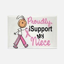 I Support My Niece 1 (SFT BC) Rectangle Magnet