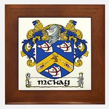 McKay Coat of Arms Framed Tile